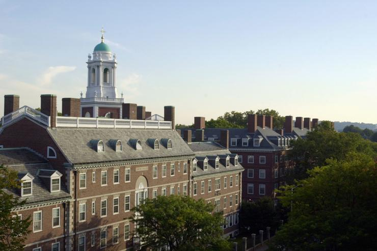 Harvard University's Kirkland House is seen on October 10, 2003 in Cambridge, Massachusetts