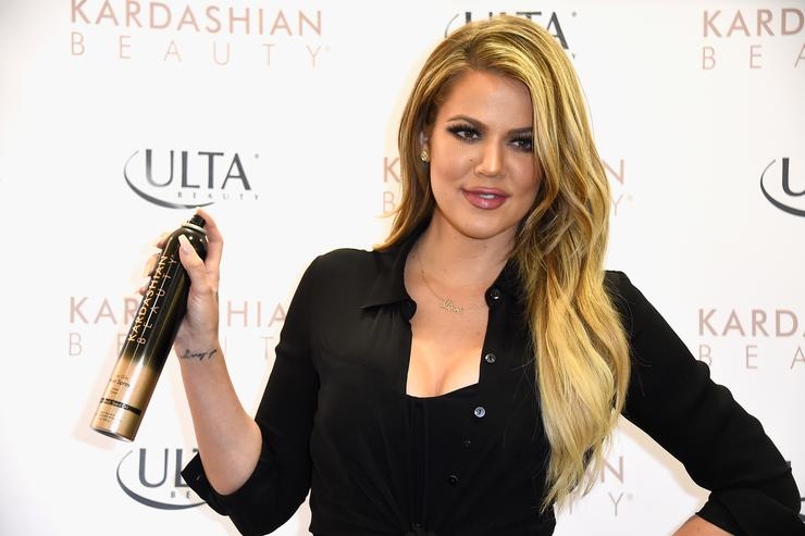 Khloe Kardashian appears At ULTA Beauty's West Hills Store To Promote Kardashian Beauty Hair Care And Styling Line at ULTA Beauty on April 2, 2015 in West Hills, California