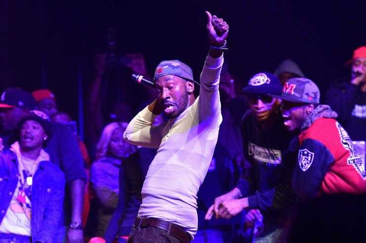 Bankroll Fresh attends Camps Giving 2015 at Variety Playhouse on November 24, 2015 in Atlanta, Georgia