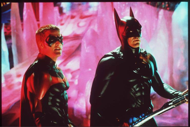 'Batman And Robin ' Movie Stills Starring George Clooney And Chris O'Donnell