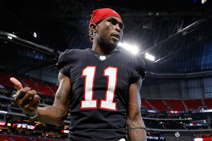 Falcons won't give Julio Jones new contract