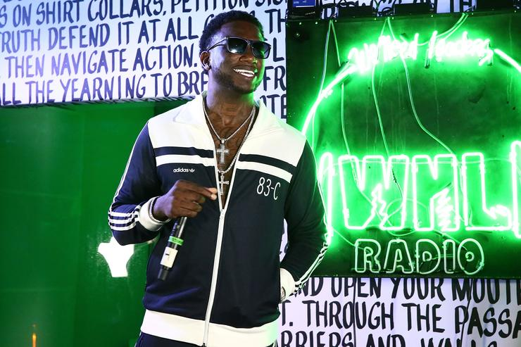 Rapper Gucci Mane performs at Public School And The Confidante Present WNL Radio at The C
