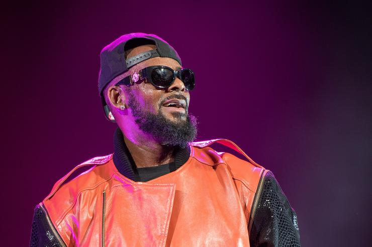 R. Kelly performs in concert at Barclays Center on September 25, 2015 in the Brooklyn borough of New York City