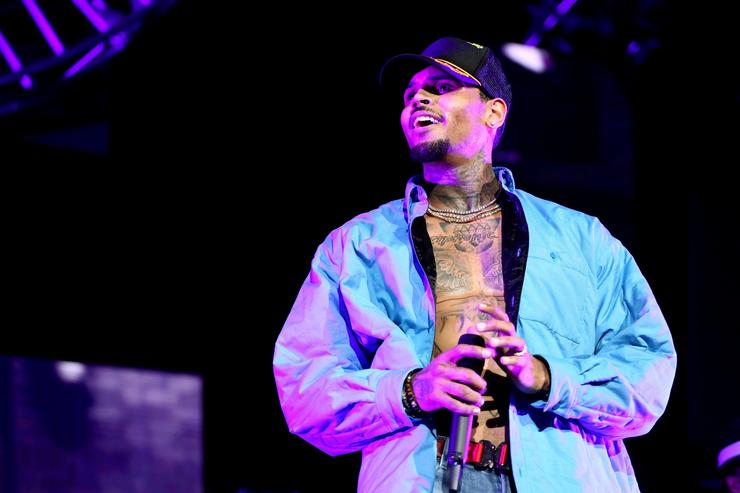 Chris Brown performs at 2018 BET Experience Staples Center Concert, sponsored by COCA-COLA, at L.A. Live on June 22, 2018 in Los Angeles, California.