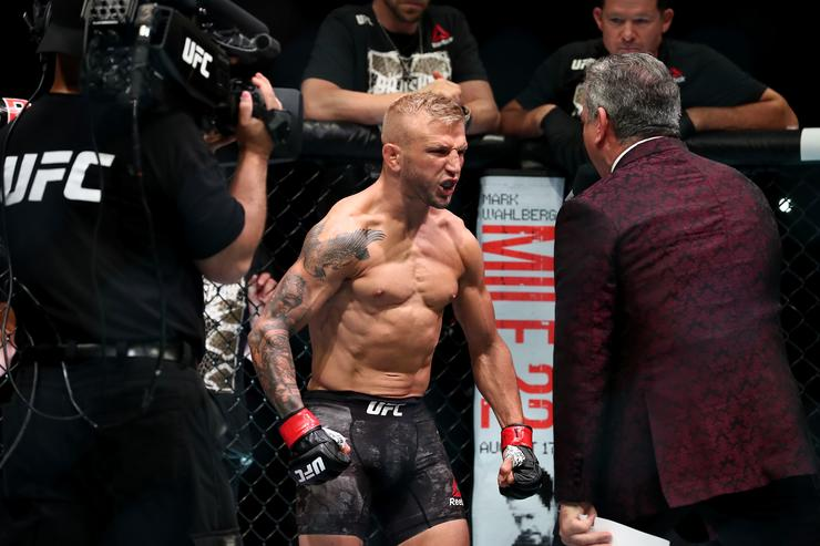 TJ Dillashaw KO's Cody Garbrandt To Retain The Bantamweight Title