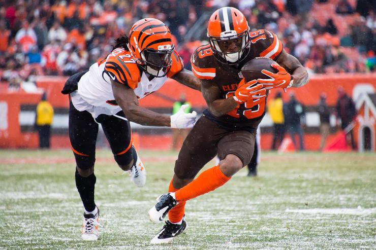 Browns trading WR Coleman to Bills