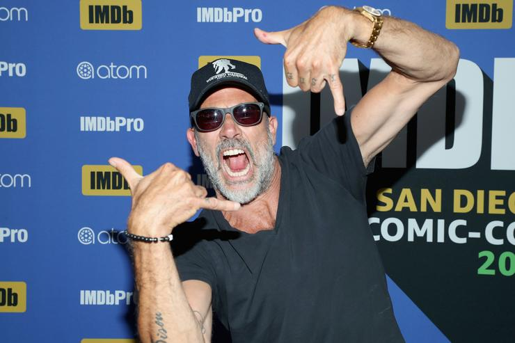 Actor Jeffrey Dean Morgan attends the #IMDboat At San Diego Comic-Con 2018: Day Two at The IMDb Yacht on July 20, 2018 in San Diego, California.