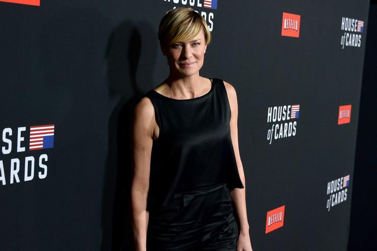 Robin Wright Takes the Throne in New 'House of Cards' Promo Poster