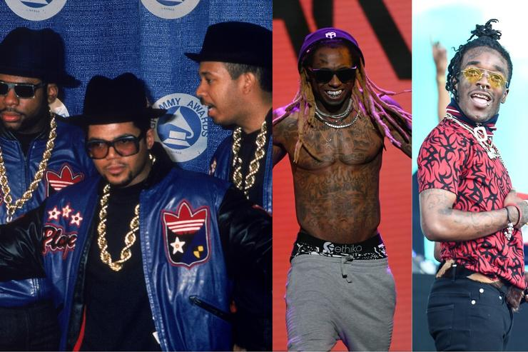 Run DMC, Lil Wayne and Lil Uzi Vert are all rap-rock explorers