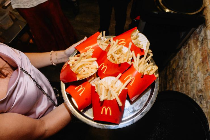 Blind Dragon Chicago Opening inside FOUND Hotel with Bites by McDonald's on August 5, 2018 in Chicago, Illinois.