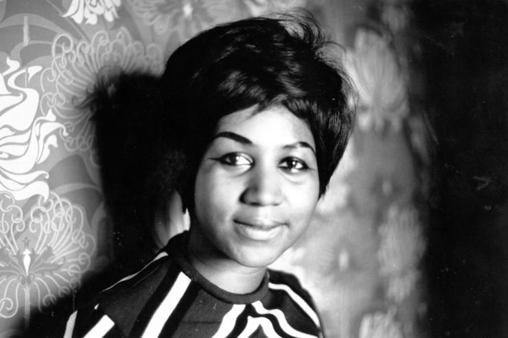 American soul singer Aretha Franklin a star on the Atlantic record label