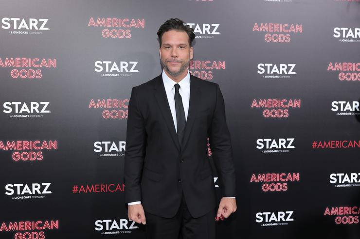 Dane Cook attends the premiere of Starz's 'American Gods' at the ArcLight Cinemas Cinerama Dome on April 20, 2017 in Hollywood, California.