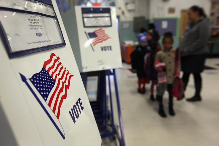 U.S. trails most developed countries in voter turnout