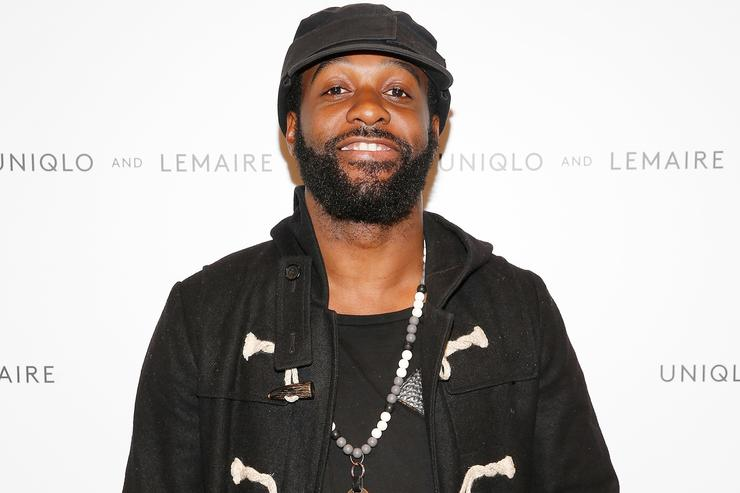 Hip-hop artist Mickey Factz attends the UNIQLO and LEMAIRE pre-shopping event at UNIQLO on October 1, 2015 in New York City.
