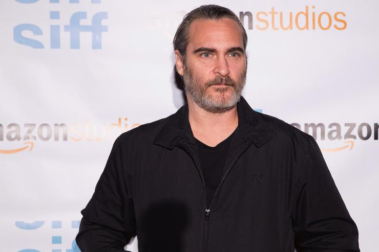 Actor Joaquin Phoenix attends a screening of the film 'Don't Worry, He Won't Get Far On Foot' during the Seattle International Film Festival at SIFF Cinema Egyptian on June 10, 2018 in Seattle, Washington.