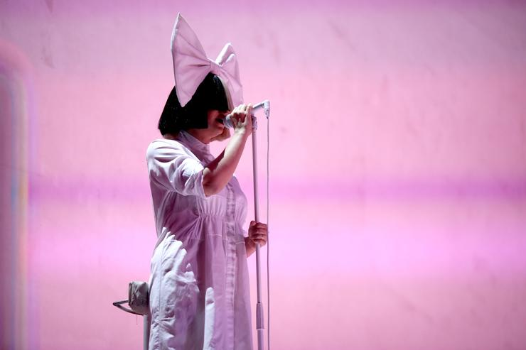 Singer Sia performs onstage at the 2016 iHeartRadio Music Festival at T-Mobile Arena on September 23, 2016 in Las Vegas, Nevada.