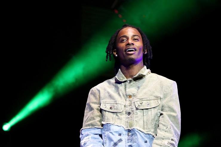 Playboi Carti performs onstage at the STAPLES Center Concert Sponsored by SPRITE during the 2018 BET Experience on June 23, 2018 in Los Angeles, California.