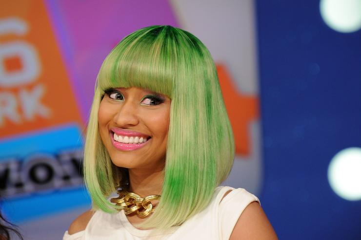 Nicki Minaj visits BET's 106 & Park at BET Studios on March 31, 2010 in New York City