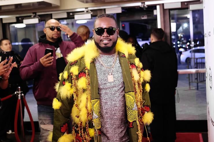 T-Pain attends the G-Shock 35th Anniversary Celebration at The Theater at Madison Square Garden on November 9, 2017 in New York City