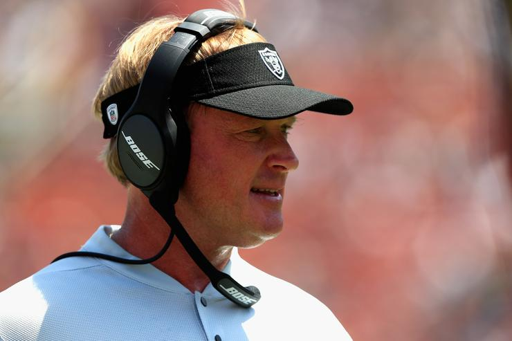 Jon Gruden's ex-ESPN partner takes a shot: What is he doing?