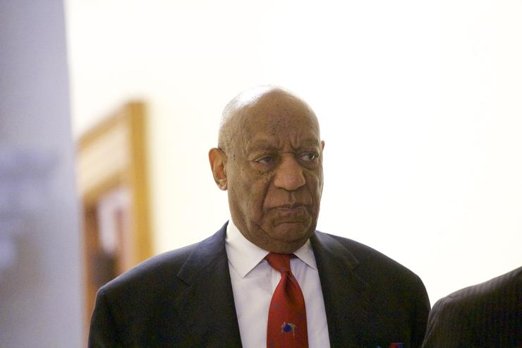 Bill Cosby's Walk of Fame star vandalized with the words 'Serial Rapist'