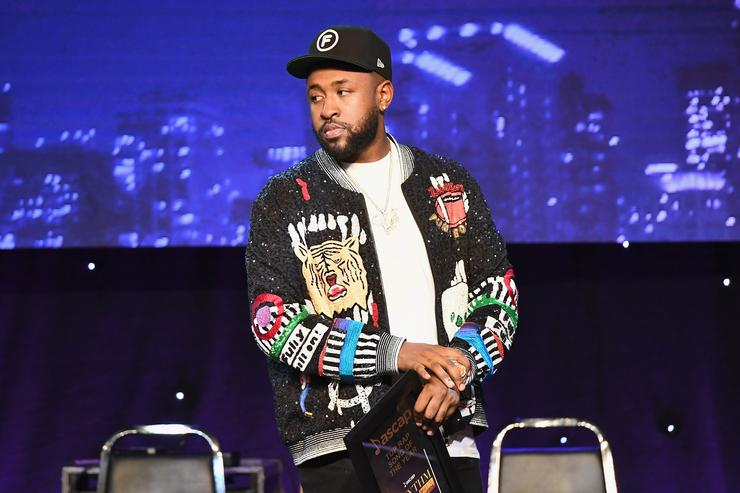 Mike WiLL Made-It accepts award for Rap Song of the Year onstage at the 31st Annual ASCAP Rhythm & Soul Music Awards at the Beverly Wilshire Four Seasons Hotel on June 21, 2018 in Beverly Hills, California.