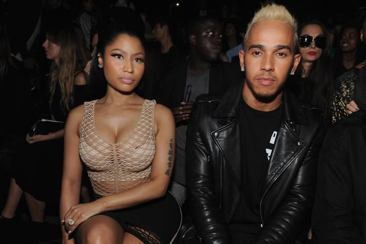 Are they dating? Lewis Hamilton with singer Nicki Minaj