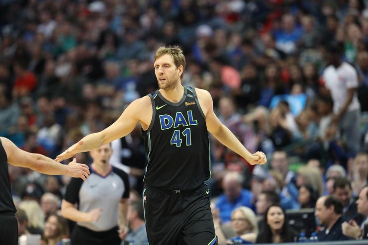 Dirk praises Doncic: 'Couldn't believe what I saw'