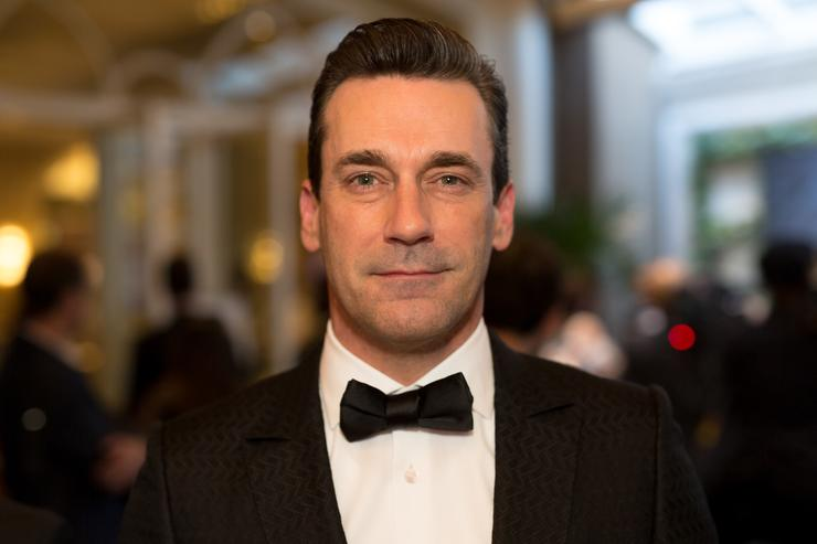 Actor Jon Hamm attends the Mercedez-Benz USA's Official Awards Viewing Party at Four Seasons Hotel Los Angeles at Beverly Hills on March 4, 2018 in Los Angeles, California.