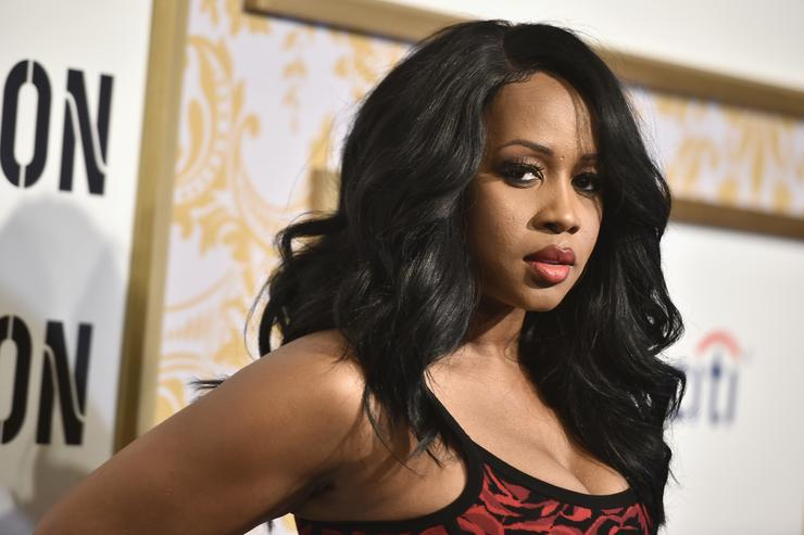 Remy Ma attends the 2018 Roc Nation Pre-Grammy Brunch at One World Trade Center on January 27, 2018 in New York City