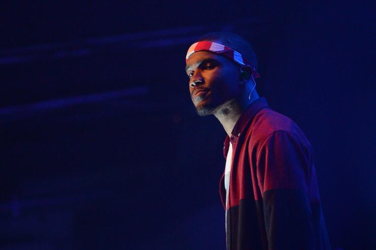 Frank Ocean performs at Terminal 5 on July 26, 2012 in New York City