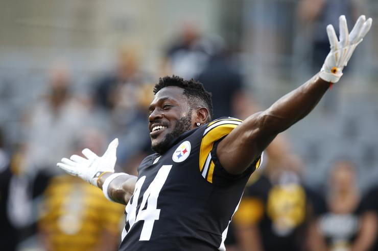 Mike Tomlin Basically Confirms Antonio Brown's No-Show for Practice Monday Was Unexcused
