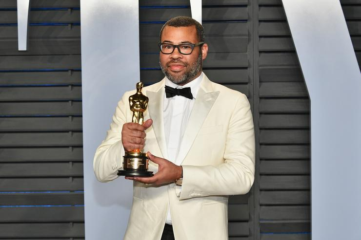 Jordan Peele attends the 2018 Vanity Fair Oscar Party hosted by Radhika Jones at Wallis Annenberg Center for the Performing Arts