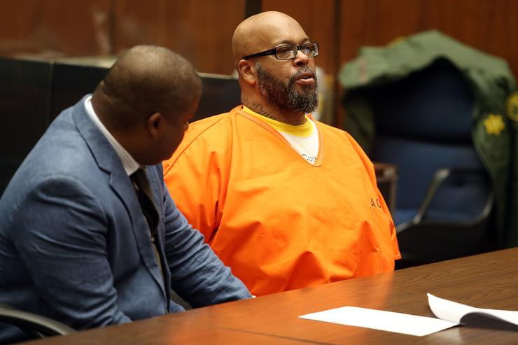 Rap mogul Marion 'Suge' Knight pleads to manslaughter days before murder trial