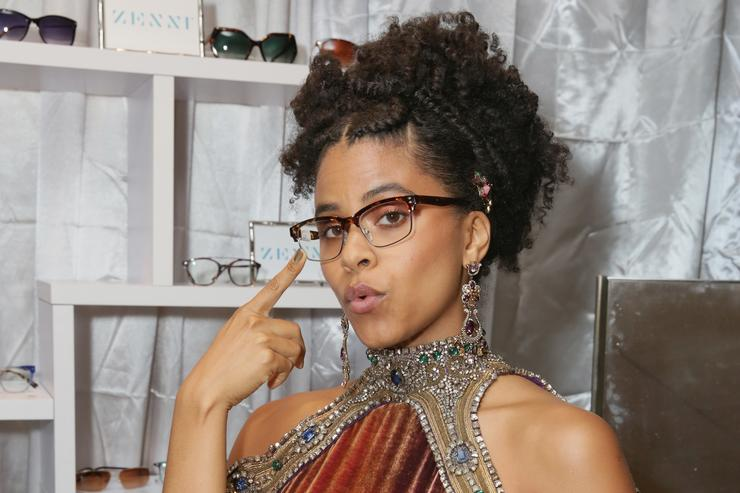 Zazie Beetz attends Backstage Creations Giving Suite At The 70th Emmy Awards at Microsoft Theater on September 17, 2018 in Los Angeles, California.