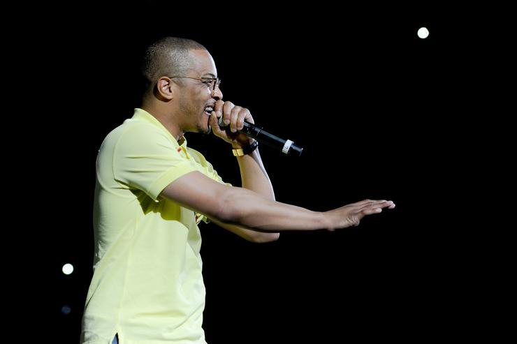 T.I. performs onstage during the 6th Yo Gotti Birthday Bash at FedExForum on June 28, 2018 in Memphis, Tennessee
