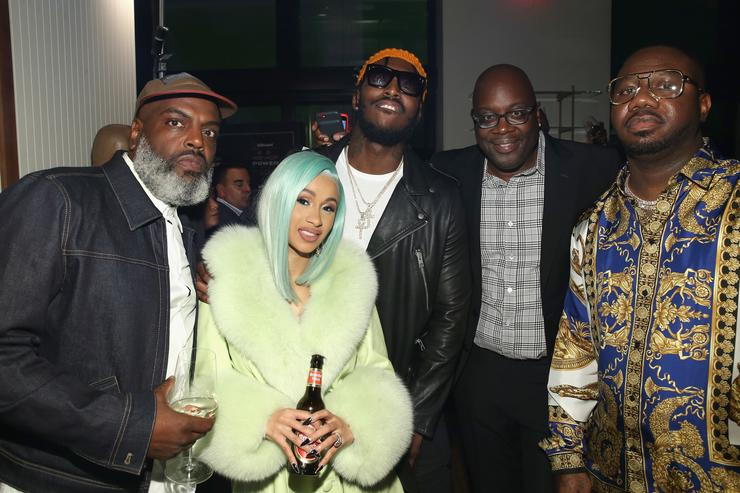 ": Kevin Coach K Lee, Cardi B, Pardison Fontaine, Michael Kyser and Quality Control's Pierre ""Pee"" Thomas"