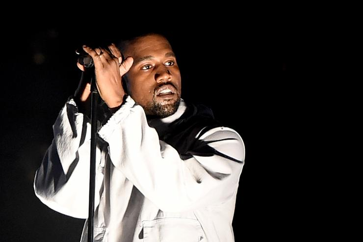 Singer Kanye West performs during 102.7 KIIS FM's Wango Tango at StubHub Center on May 9, 2015 in Los Angeles, California.