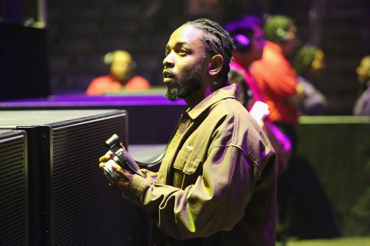 Kendrick Lamar attends the 2018 BET Experience Staples Center Concert, sponsored by COCA-COLA, at L.A. Live on June 22, 2018 in Los Angeles, California