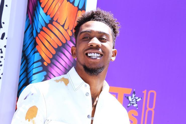 Desiigner attends the 2018 BET Awards at Microsoft Theater on June 24, 2018 in Los Angeles, California