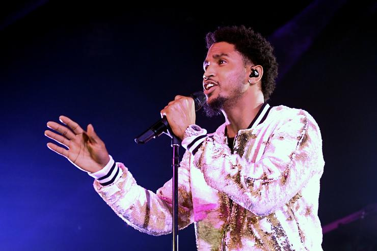 Recording artist Trey Songz performs at Brooklyn Bowl Las Vegas