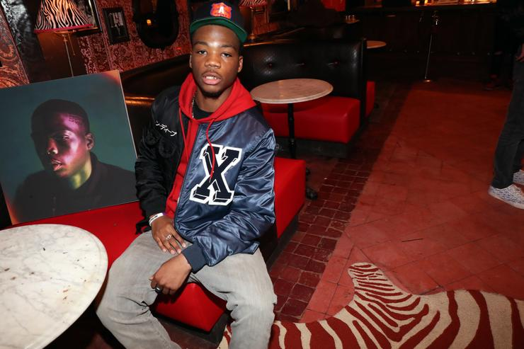 Recording artist STRO attends his 'Grade A Frequencies' Listening Party on February 28, 2017 in New York City.