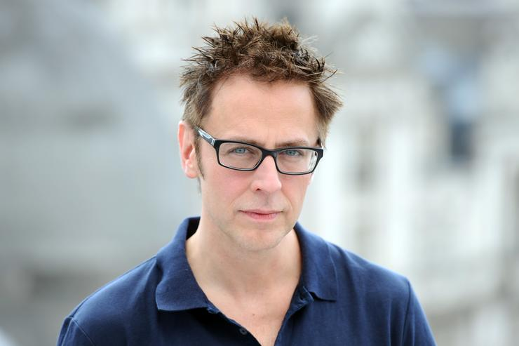 James Gunn attends the 'Guardians of the Galacy' photocall on July 25, 2014 in London, England