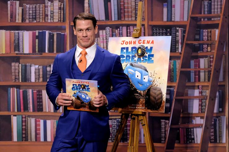 Professional wrestler/actor John Cena visits 'The Tonight Show Starring Jimmy Fallon'at Rockefeller Center on October 9, 2018 in New York City.