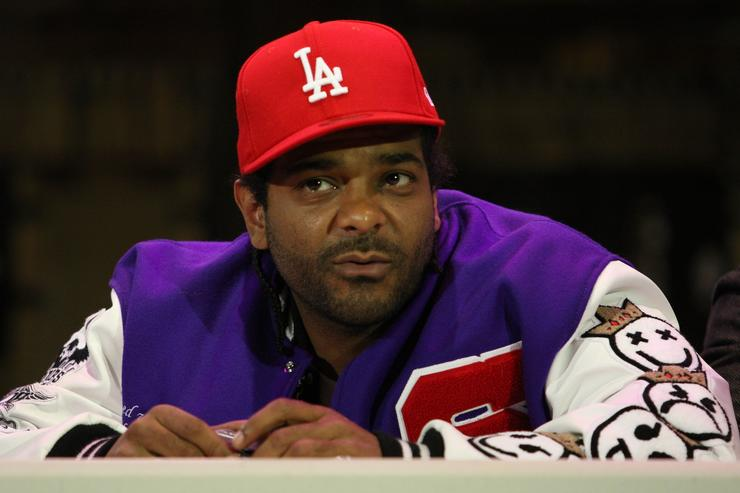 Recording artist Jim Jones attends the Sony Entertainment press conference to announce the return of 'Hip Hop Monologues: Inside the Life & Mind of Jim Jones' at 37 Arts Theatre on March 23, 2009 in New York City.