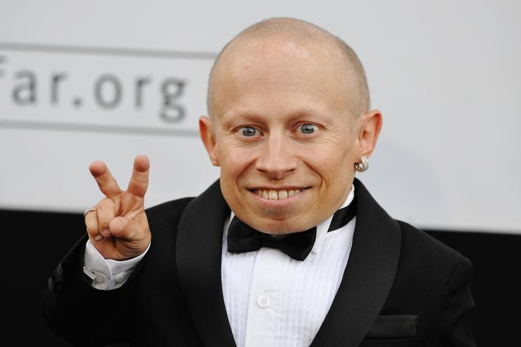 Actor Verne Troyer attends the amfAR Cinema Against AIDS 2009 benefit at the Hotel du Cap during the 62nd Annual Cannes Film Festival on May 21, 2009 in Antibes, France.