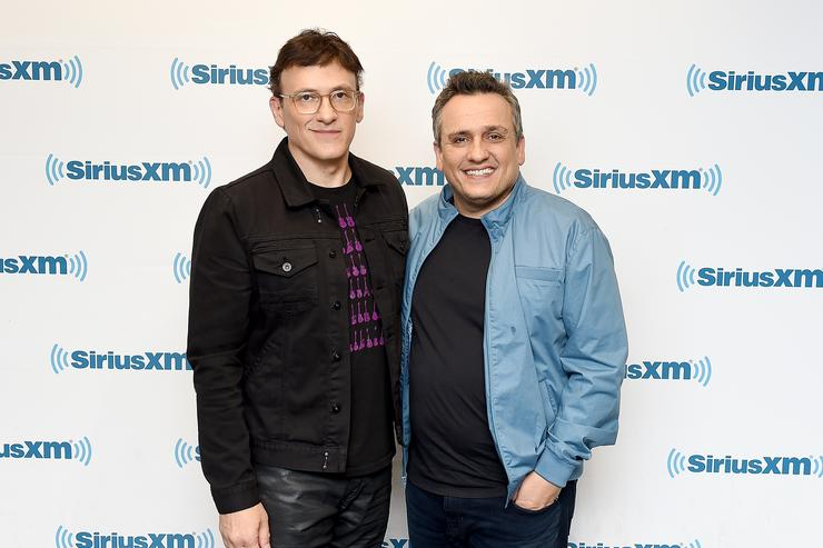Directors Anthony Russo and Joe Russo Visit SiriusXM - May 4, 2018 at SiriusXM Studios on May 4, 2018 in New York City.
