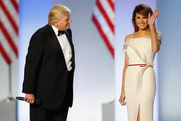 Melania Trump explained why she wore that insensitive jacket