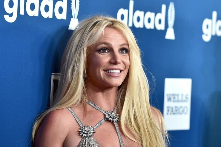 Britney Spears attends the 29th Annual GLAAD Media Awards at The Beverly Hilton Hotel on April 12, 2018 in Beverly Hills, California