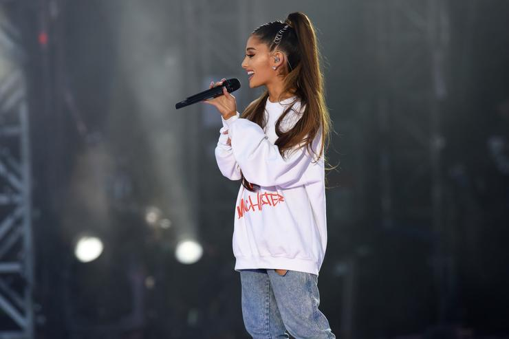 Ariana Grande addresses Pete Davidson split for the first time
